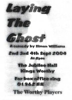 2004 Laying The Ghost Programme