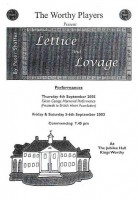 2003 Lettuce And Lovage Programme