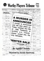 2007 A Murder Is Announced Programme