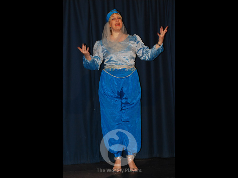 2014 Aladdin Costume - Narrator