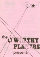 1981 Two One Act Plays Programme